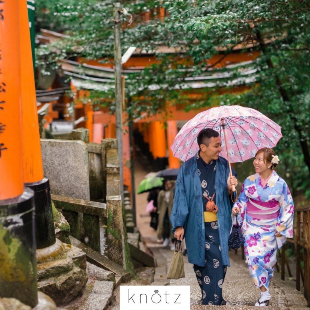 Japan pre-wedding photography