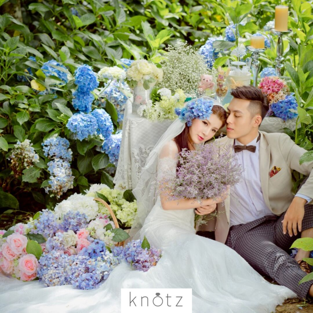 Taiwan flower and garden pre wedding photos