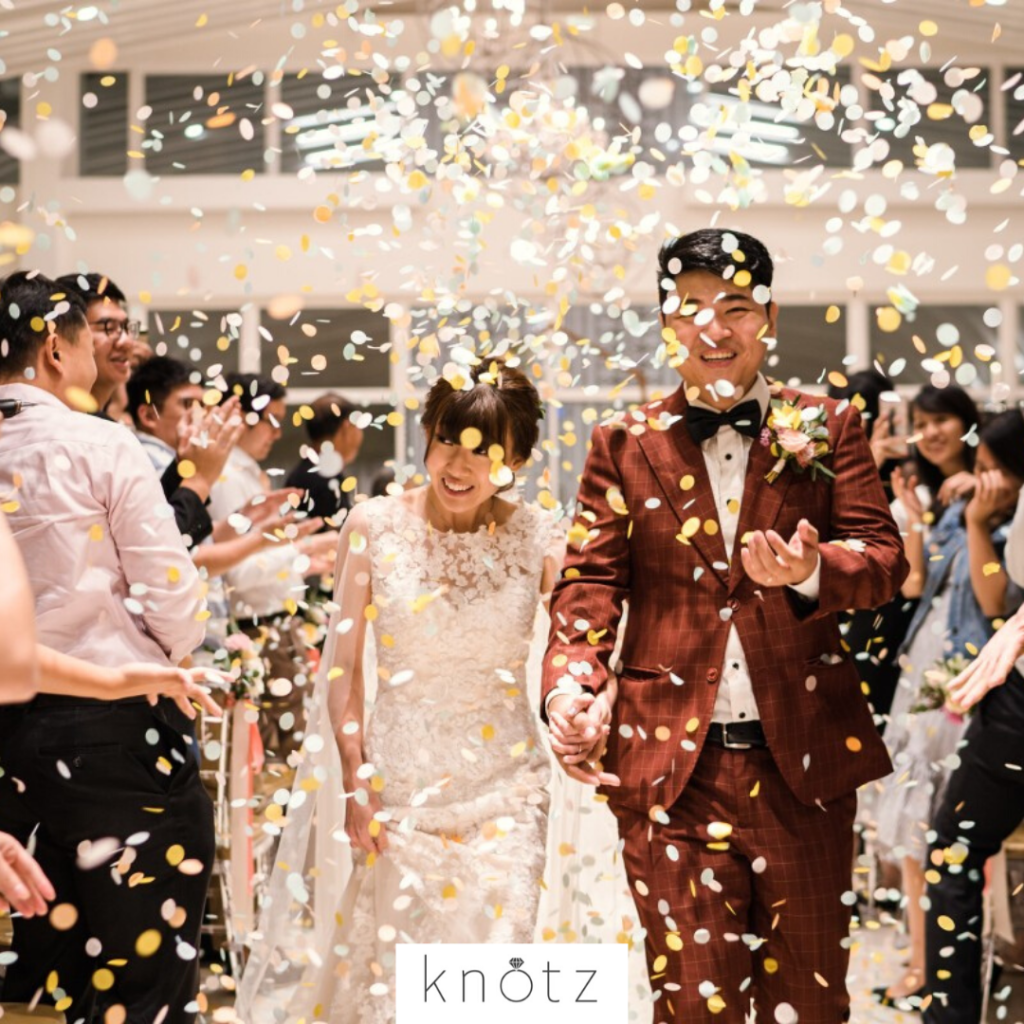 wedding day confetti