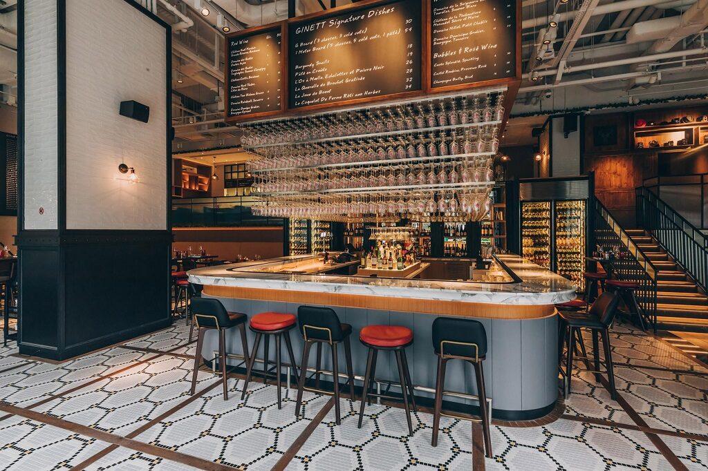 Ginett restaurant bar