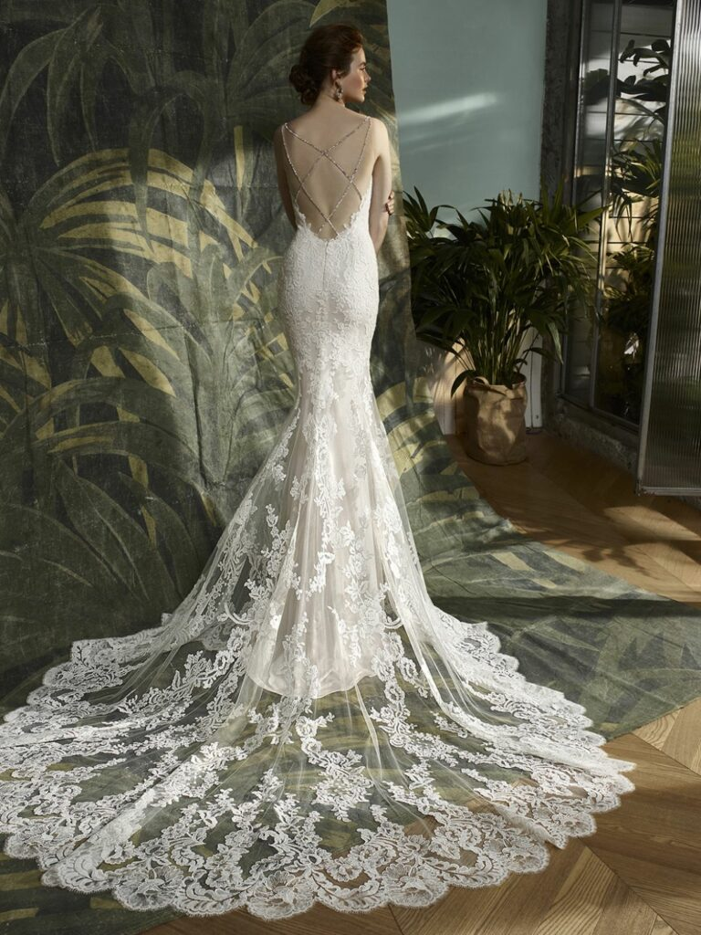 Enzoani designer gown from Kelly's Bridals
