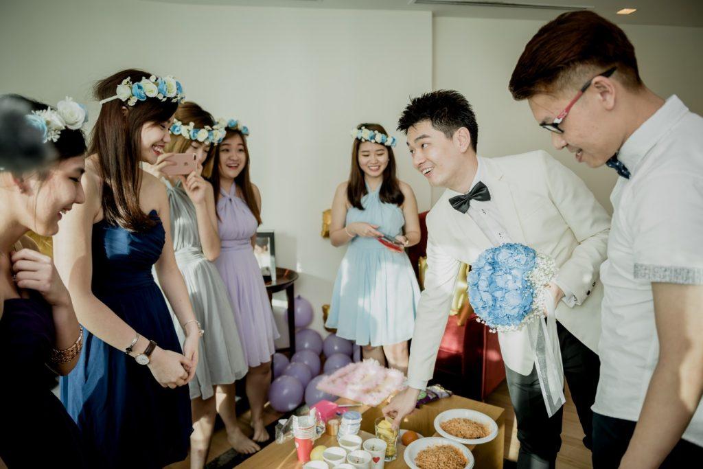 Wedding gatecrashing
