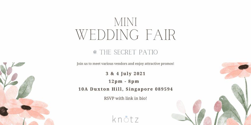 The Secret Patio Wedding Fair