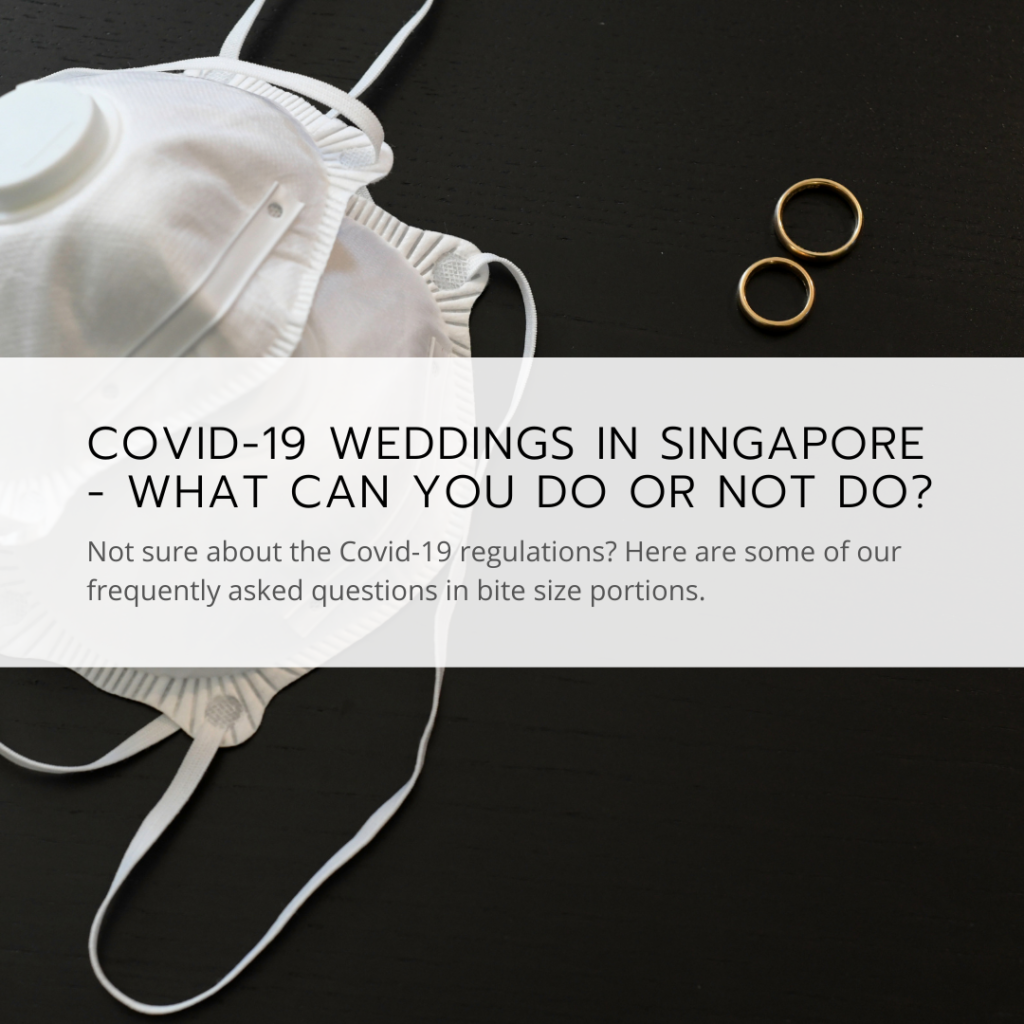 Covid-19 wedding Singapore Regulations