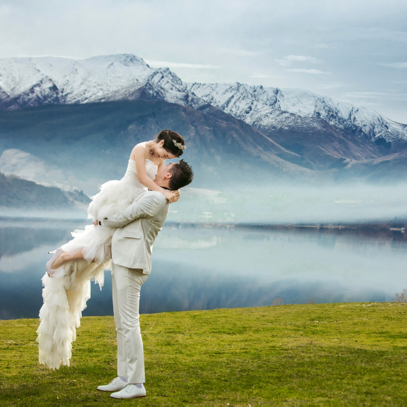 Pre-wedding photography in New Zealand