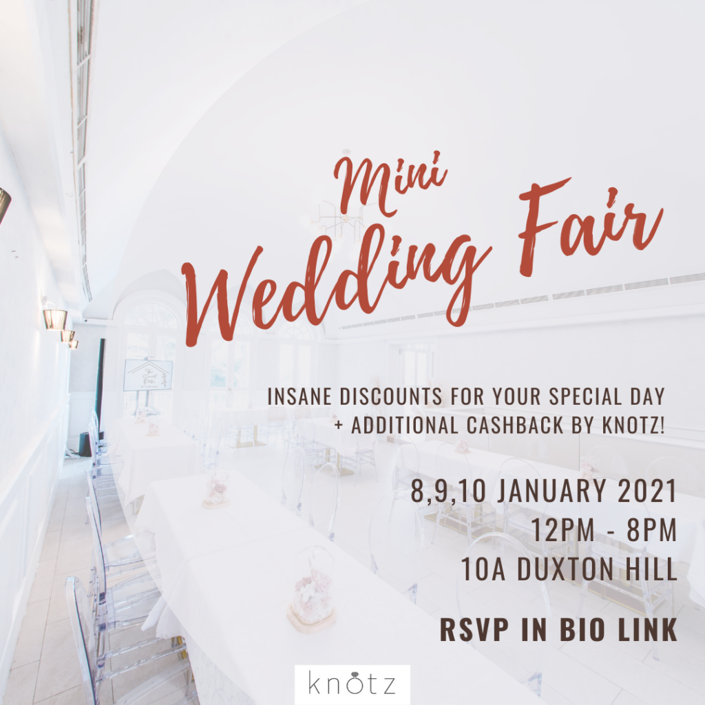 Knotz mini wedding fair