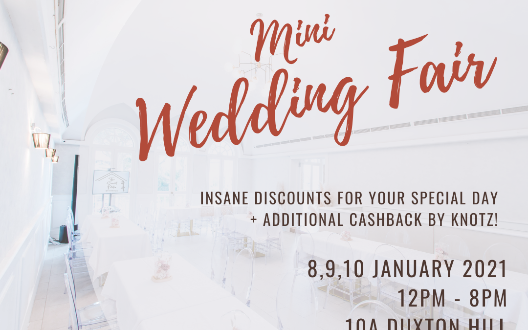 Knotz mini wedding fair