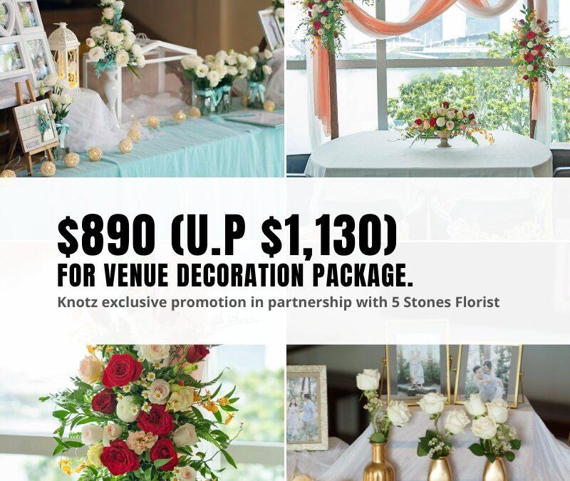 solemnisation decor package