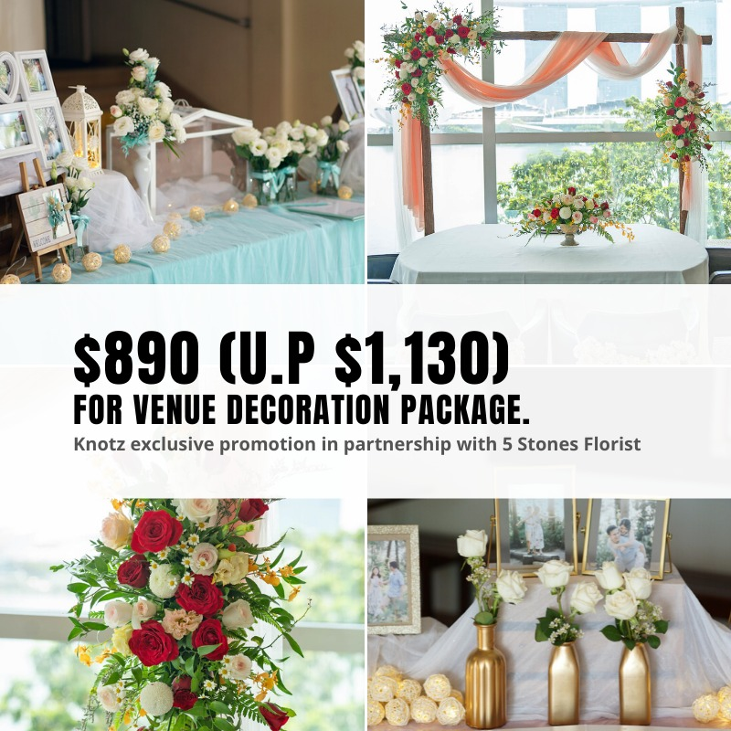 solemnisation decor package