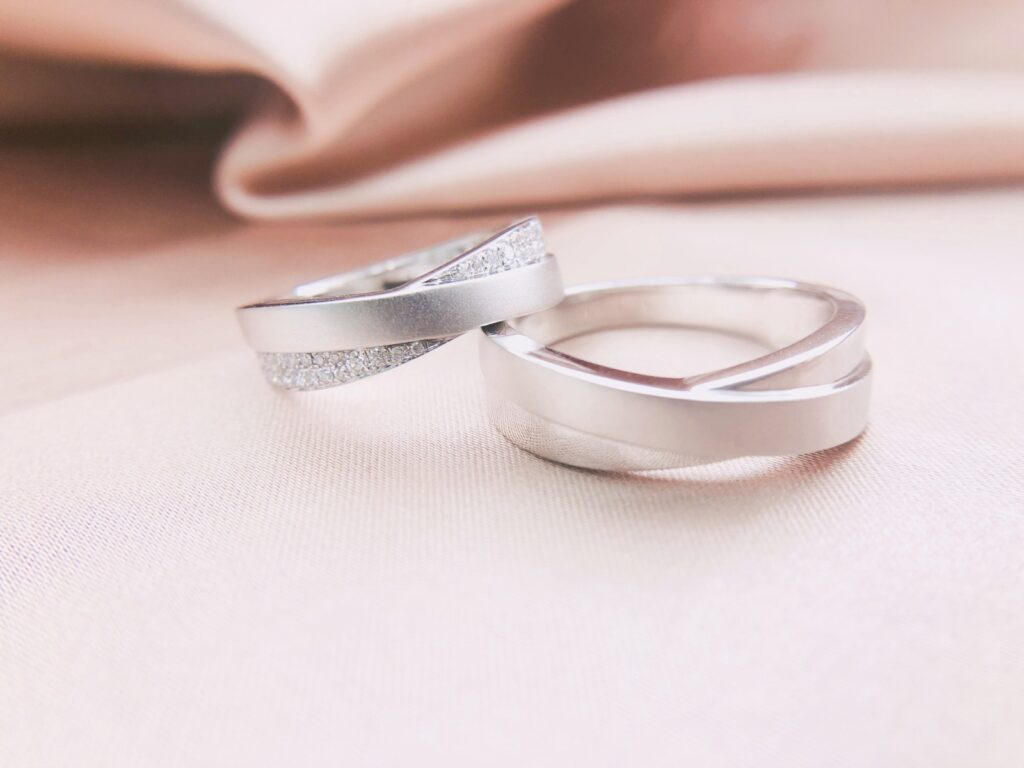 moonlight joaillerie wedding rings