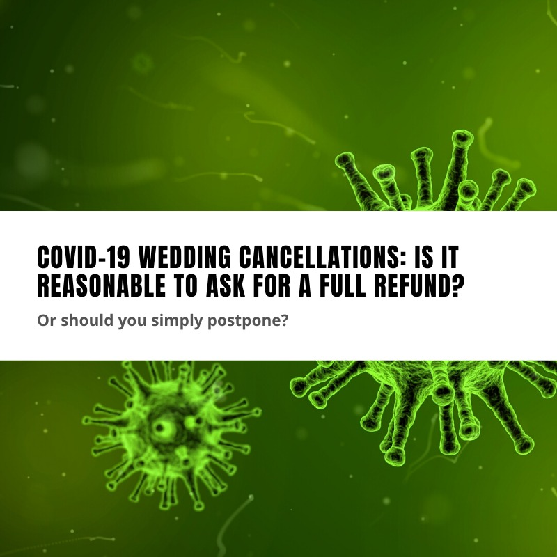 covid-19 wedding cancellations