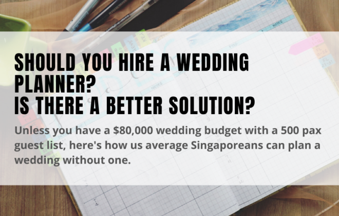 should you hire a wedding planner?