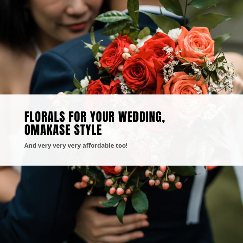 Florals for your wedding