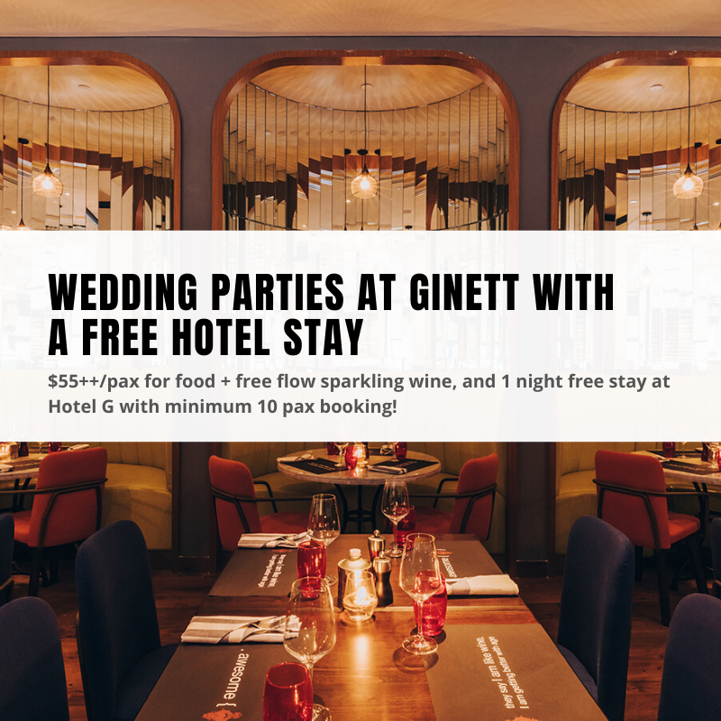 Ginett restaurant wedding parties