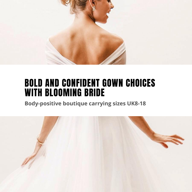 Blooming Bride curvy gowns