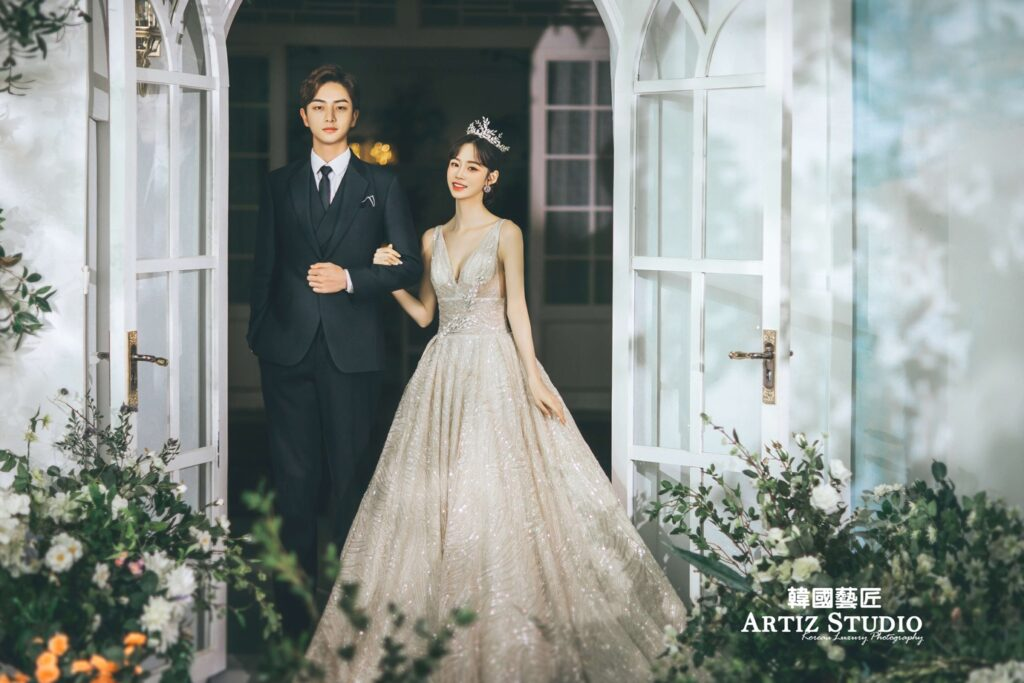 Korea Artiz Studio pre-wedding package
