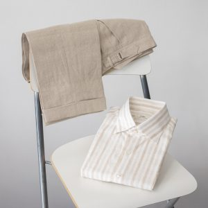 Collaro linen shirt and trousers