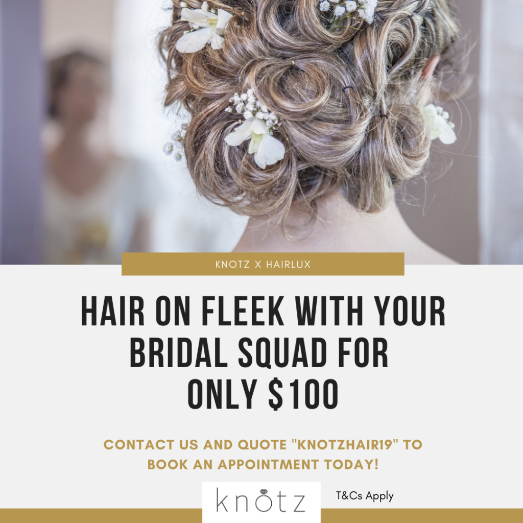 HairLux bridal hair package