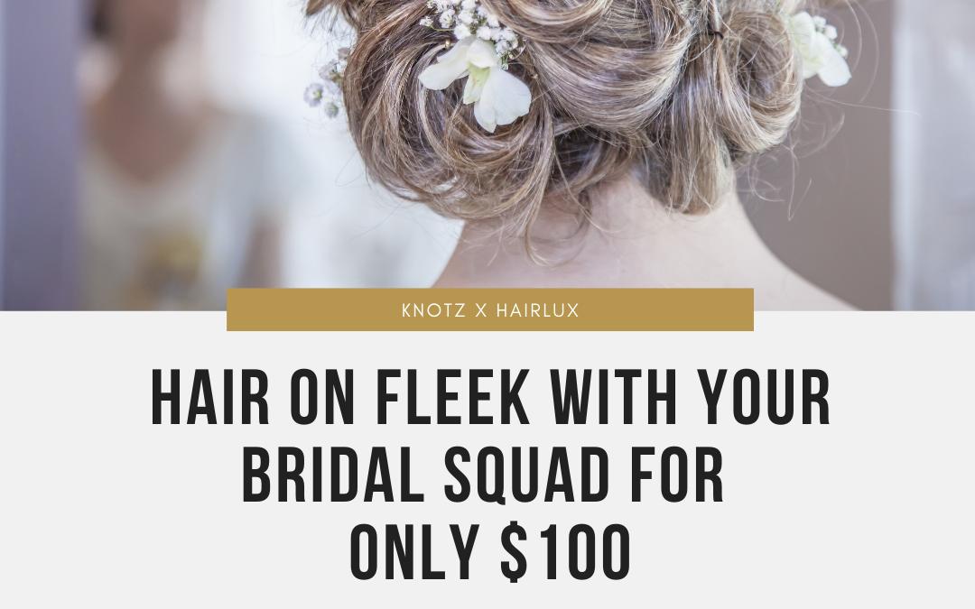 HairLux bridal hair package
