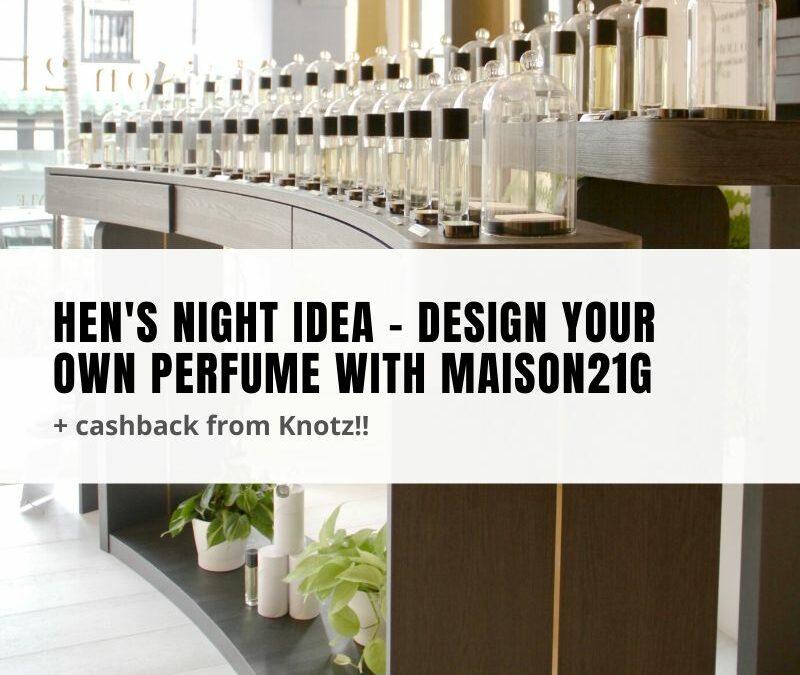 Maison21G perfume workshops