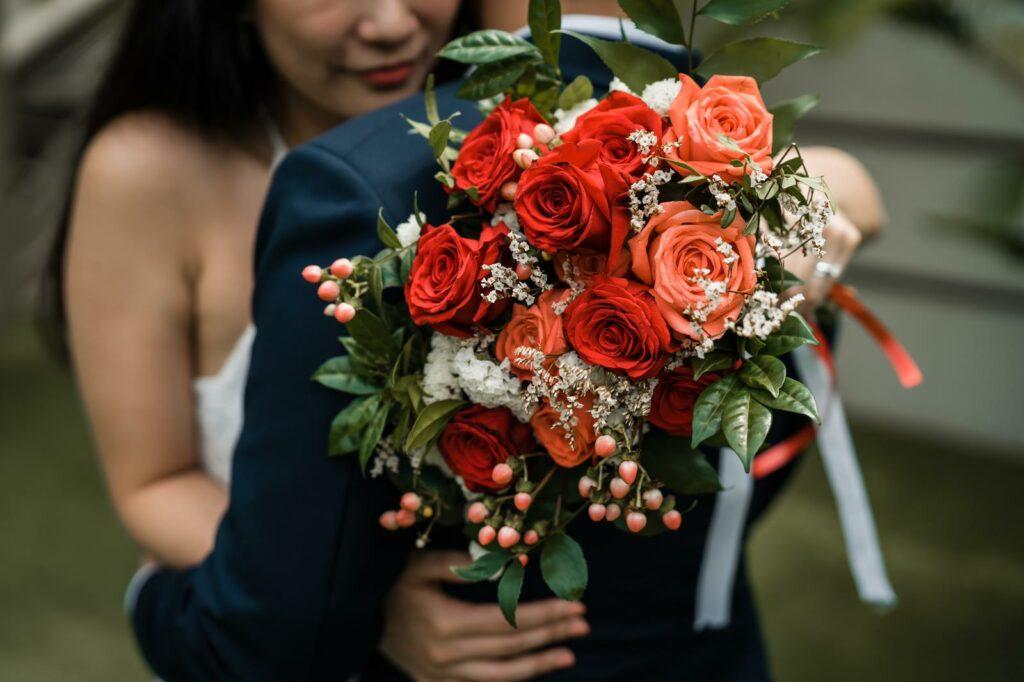 bridal bouquet from Eumori.co